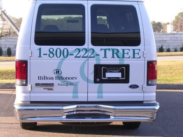 VL060 - Custom Vehicle Lettering for Hospitality & Lodging