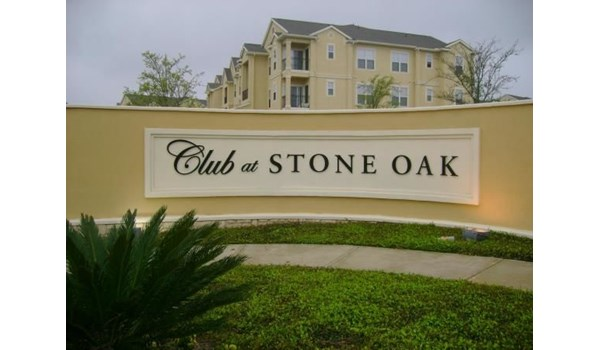 Custom Monument Sign for Property Management