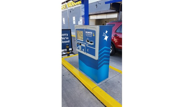 Car Wash Kiosk Graphics